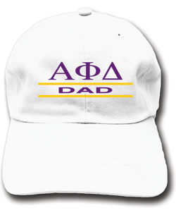 fa033b3c8dc Alpha Phi Delta Dad Hat-Spirit Recognition